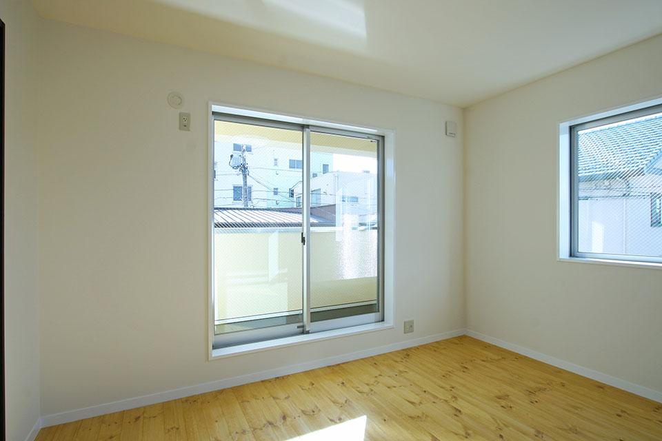 注文住宅ここち家名古屋市Y様邸2階掃き出し窓