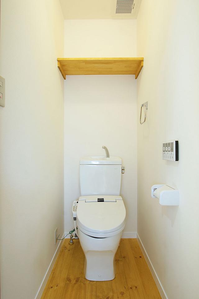 注文住宅ここち家名古屋市Y様邸トイレ